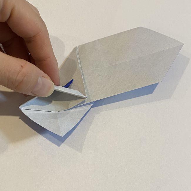兜の箸袋の折り方作り方 (20)