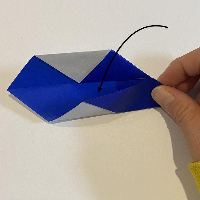 兜の箸袋の折り方作り方 (23)