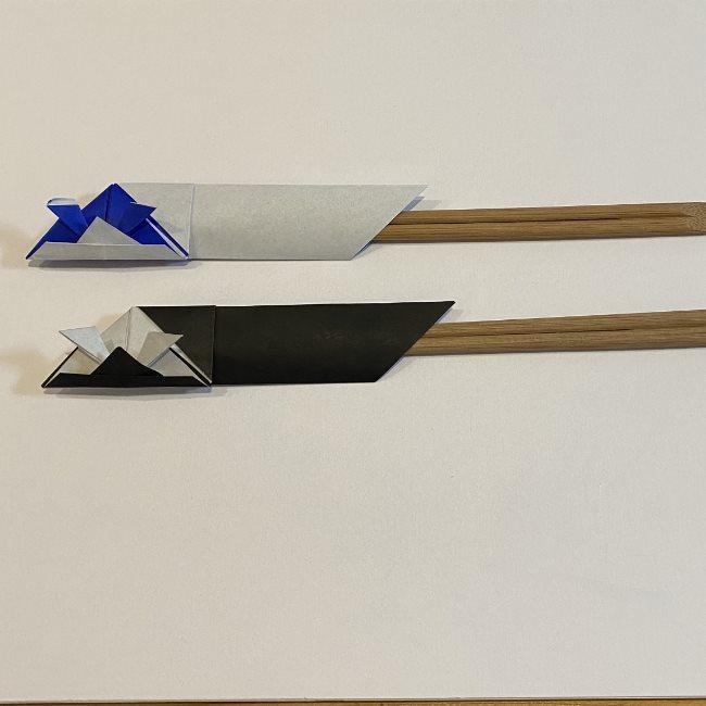 折り紙でつくる兜の箸袋は中級者向け?
