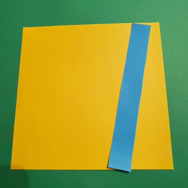 折り紙で作れるミニオンの箱*用意するもの(1)
