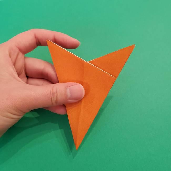 折り紙のアイスクリームコーン 立体的な折り方作り方1(14)
