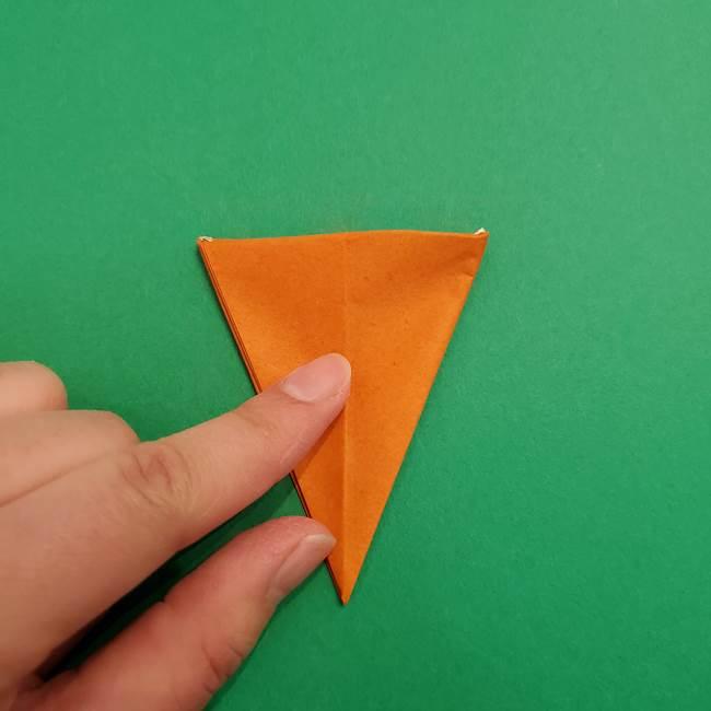 折り紙のアイスクリームコーン 立体的な折り方作り方1(24)