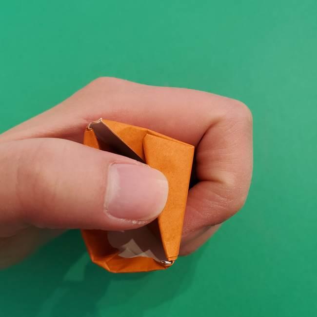 折り紙のアイスクリームコーン 立体的な折り方作り方1(26)