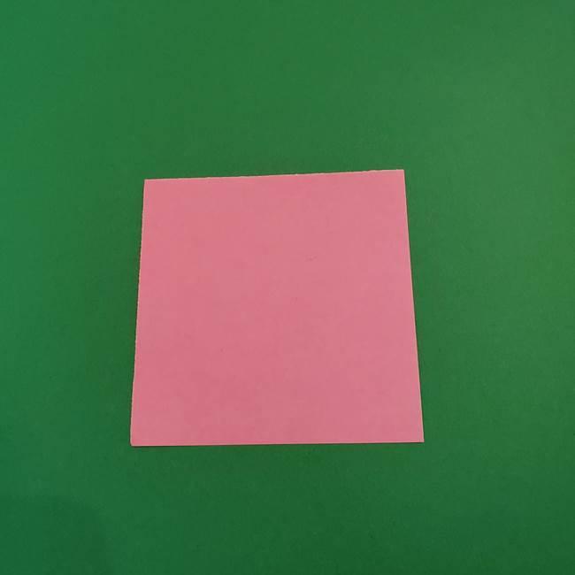 折り紙のアイスクリームコーン 立体的な折り方作り方2(1)