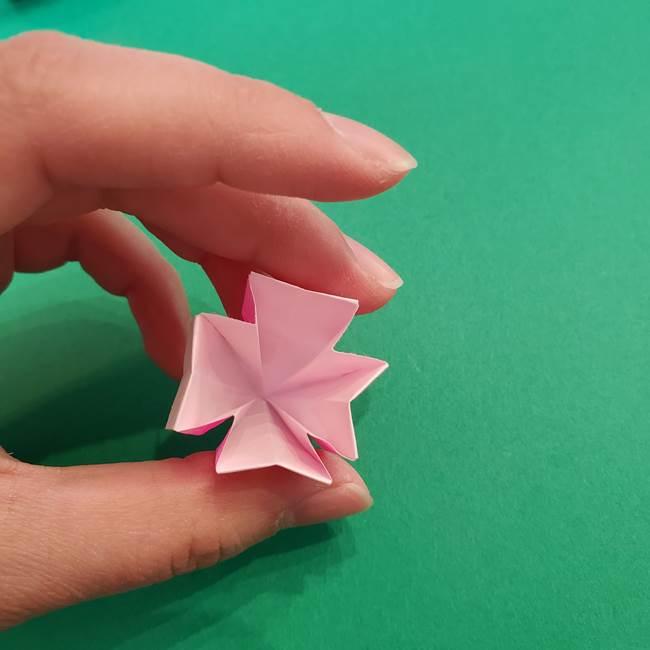 折り紙のアイスクリームコーン 立体的な折り方作り方2(34)