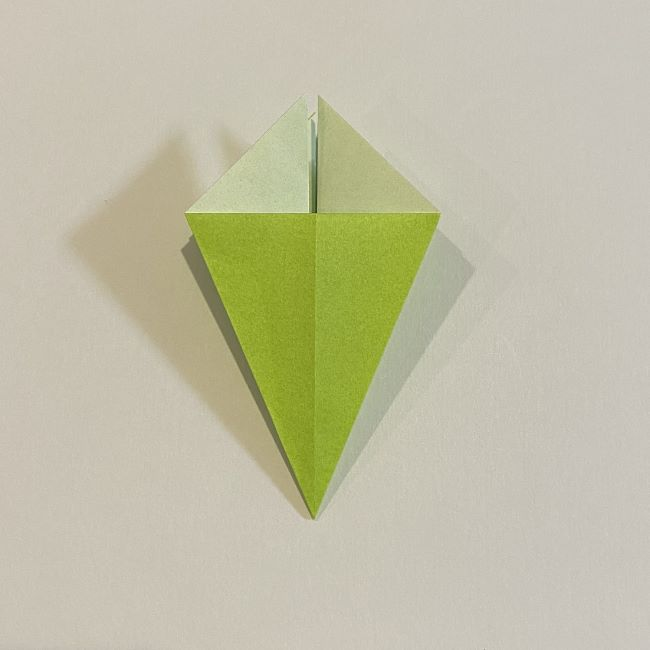 折り紙のカエル 膨らませる折り方(少し難しいので上級者向け) (13)