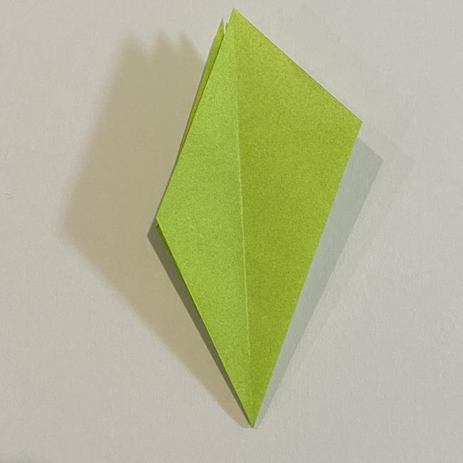 折り紙のカエル 膨らませる折り方(少し難しいので上級者向け) (19)