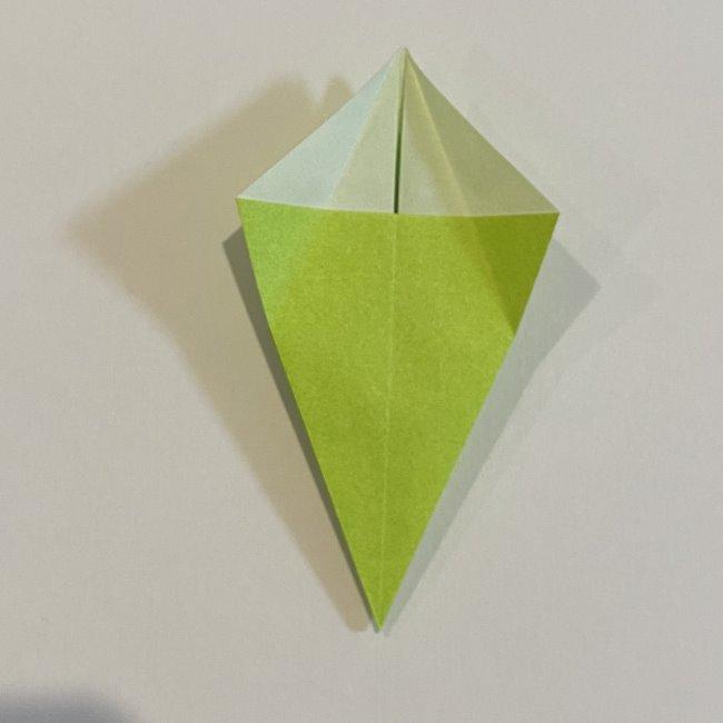 折り紙のカエル 膨らませる折り方(少し難しいので上級者向け) (22)