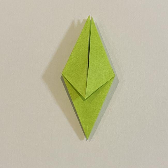 折り紙のカエル 膨らませる折り方(少し難しいので上級者向け) (24)