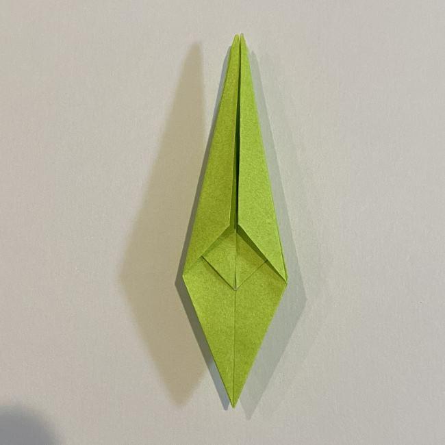 折り紙のカエル 膨らませる折り方(少し難しいので上級者向け) (26)