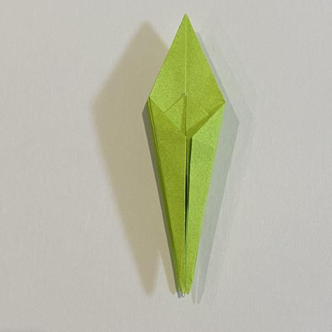 折り紙のカエル 膨らませる折り方(少し難しいので上級者向け) (27)