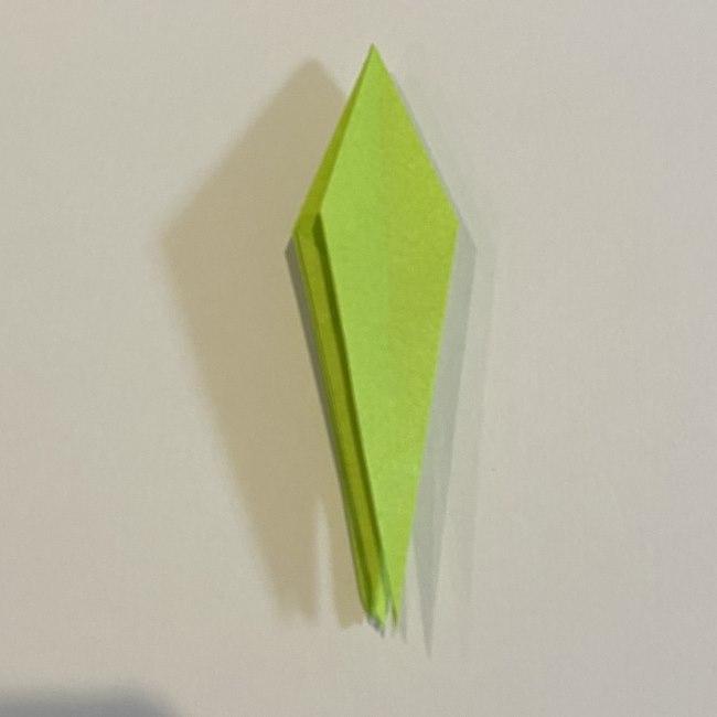 折り紙のカエル 膨らませる折り方(少し難しいので上級者向け) (28)