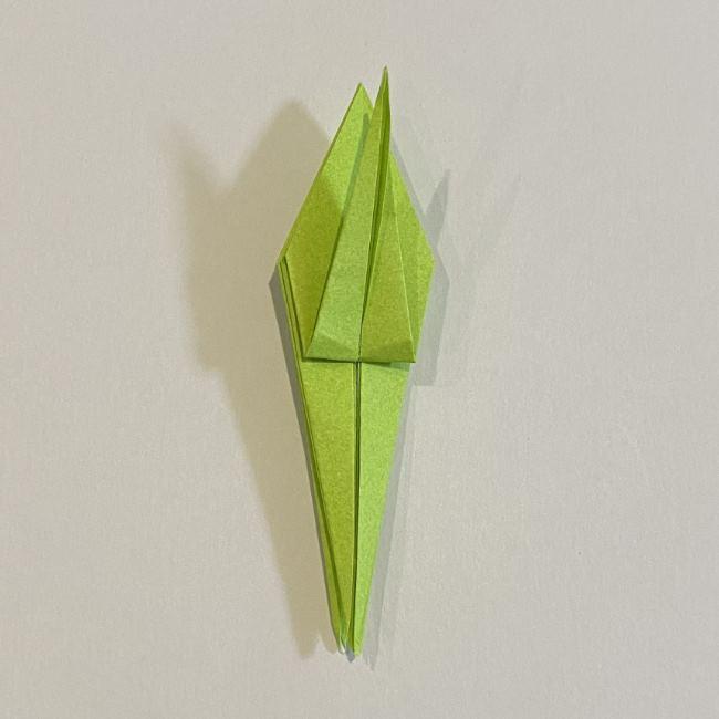 折り紙のカエル 膨らませる折り方(少し難しいので上級者向け) (29)