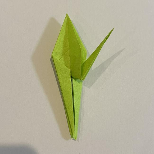 折り紙のカエル 膨らませる折り方(少し難しいので上級者向け) (30)