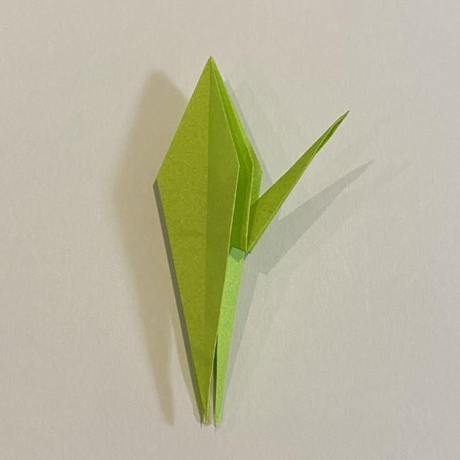 折り紙のカエル 膨らませる折り方(少し難しいので上級者向け) (31)
