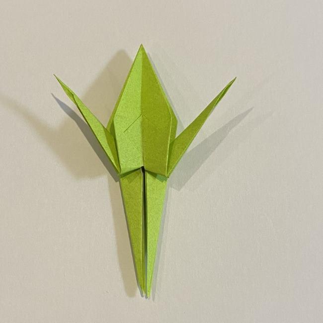 折り紙のカエル 膨らませる折り方(少し難しいので上級者向け) (33)