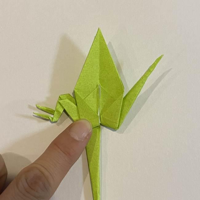 折り紙のカエル 膨らませる折り方(少し難しいので上級者向け) (37)