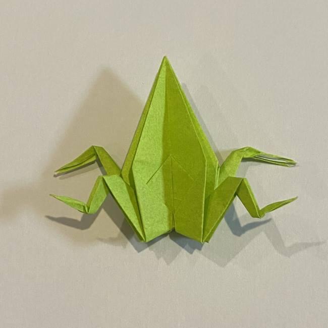 折り紙のカエル 膨らませる折り方(少し難しいので上級者向け) (41)