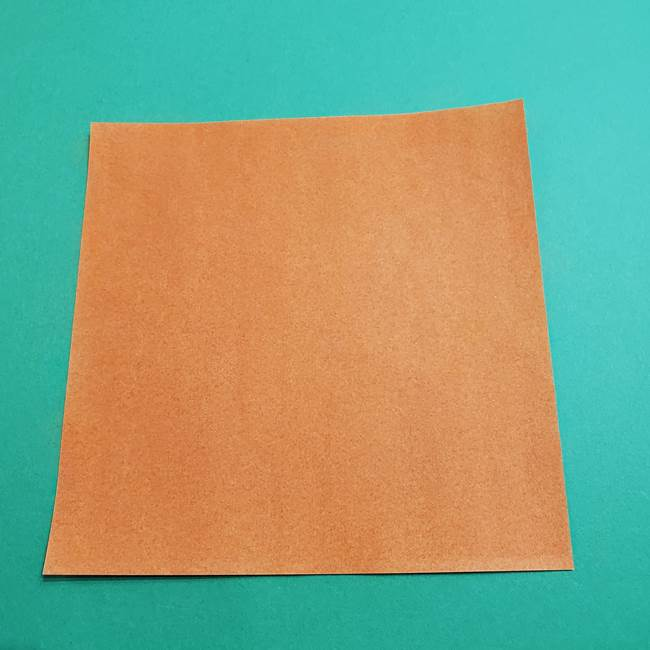 折り紙のソフトクリーム(立体)の折り方作り方コーン(1)