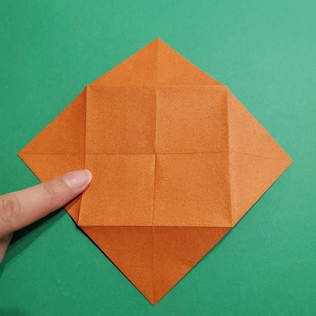 折り紙のソフトクリーム(立体)の折り方作り方コーン(10)
