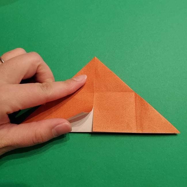 折り紙のソフトクリーム(立体)の折り方作り方コーン(11)