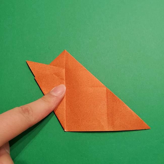 折り紙のソフトクリーム(立体)の折り方作り方コーン(13)