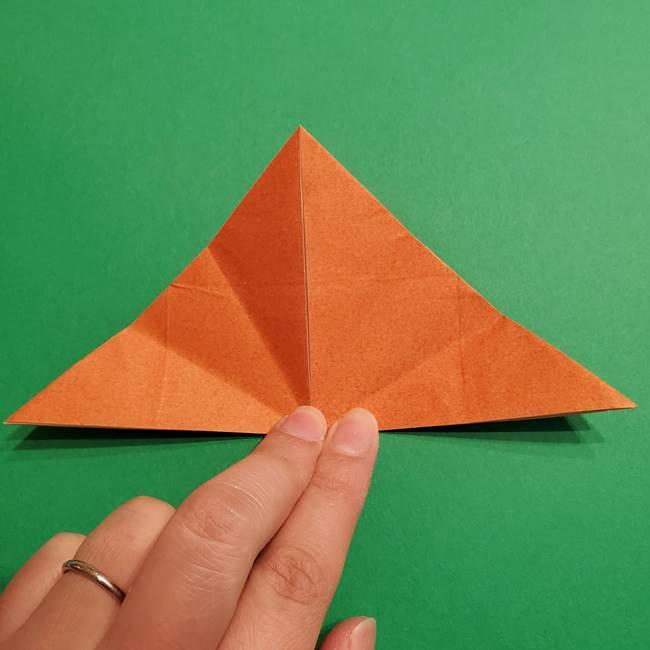 折り紙のソフトクリーム(立体)の折り方作り方コーン(16)