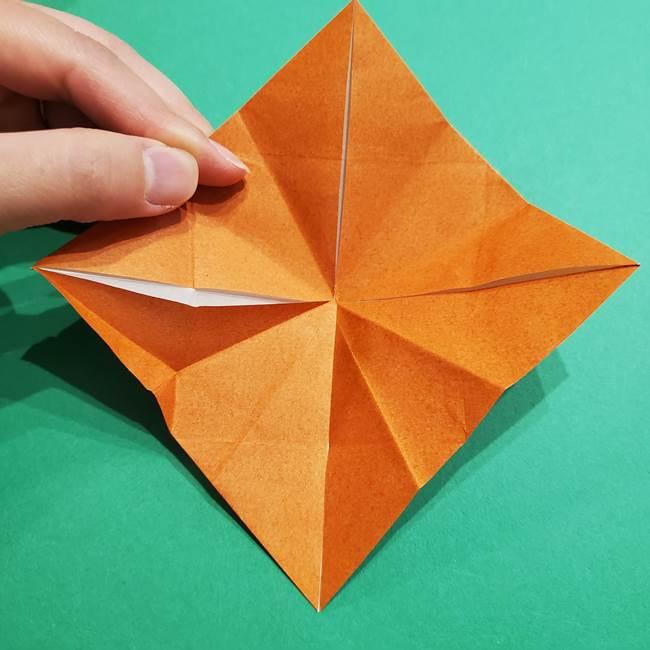 折り紙のソフトクリーム(立体)の折り方作り方コーン(24)