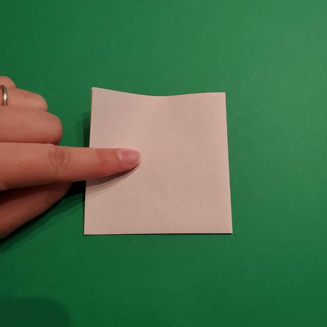 折り紙のソフトクリーム(立体)の折り方作り方コーン(3)