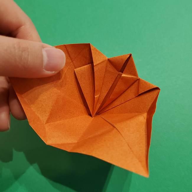 折り紙のソフトクリーム(立体)の折り方作り方コーン(31)