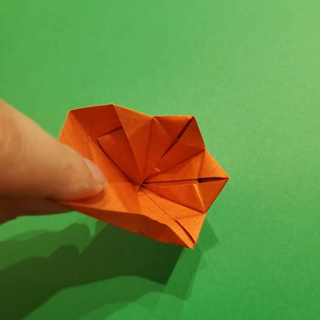折り紙のソフトクリーム(立体)の折り方作り方コーン(33)