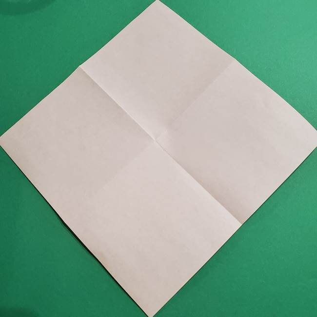 折り紙のソフトクリーム(立体)の折り方作り方コーン(4)