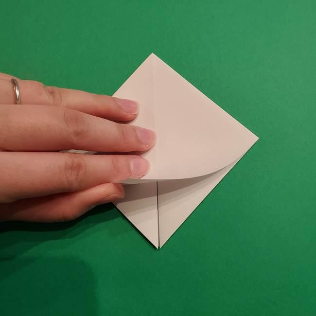 折り紙のソフトクリーム(立体)の折り方作り方(10)