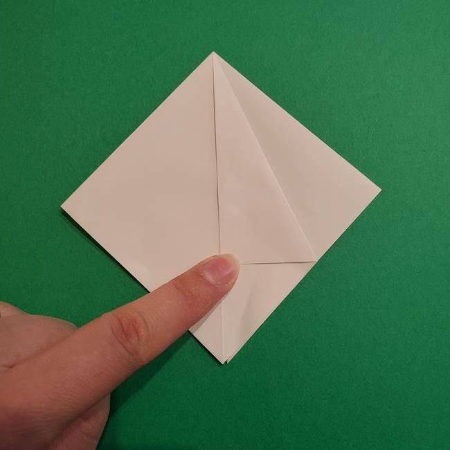 折り紙のソフトクリーム(立体)の折り方作り方(11)