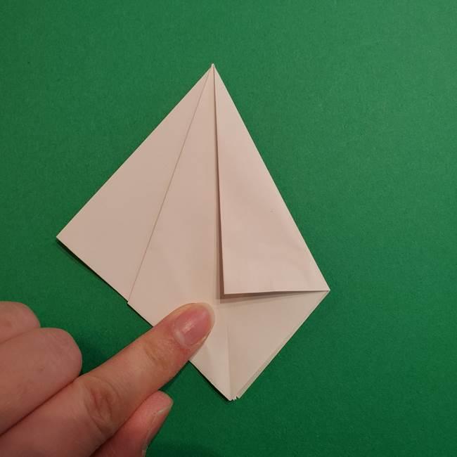 折り紙のソフトクリーム(立体)の折り方作り方(13)