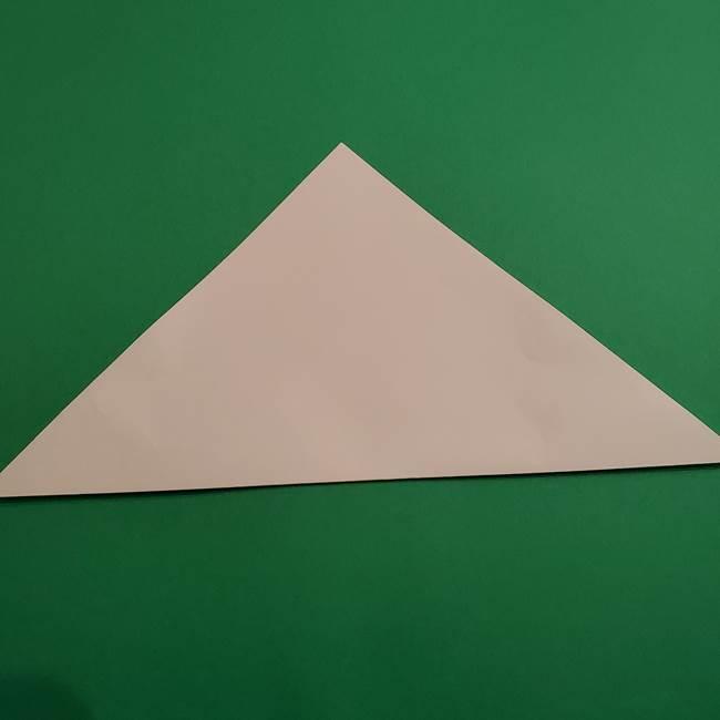 折り紙のソフトクリーム(立体)の折り方作り方(2)