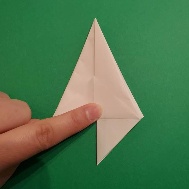 折り紙のソフトクリーム(立体)の折り方作り方(22)
