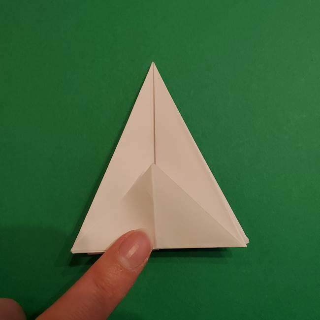 折り紙のソフトクリーム(立体)の折り方作り方(24)