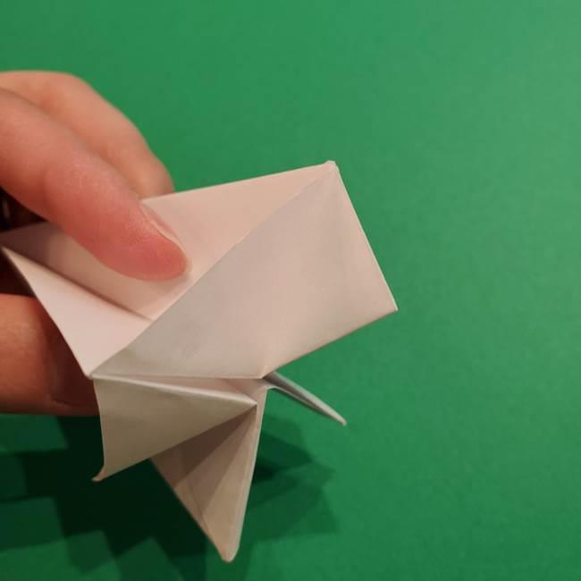 折り紙のソフトクリーム(立体)の折り方作り方(29)