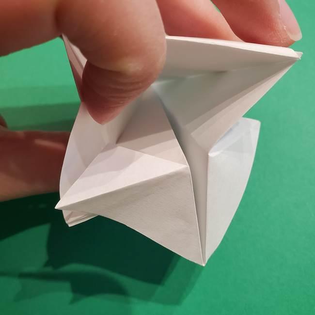 折り紙のソフトクリーム(立体)の折り方作り方(30)