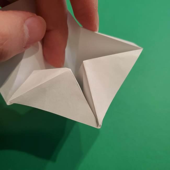 折り紙のソフトクリーム(立体)の折り方作り方(32)