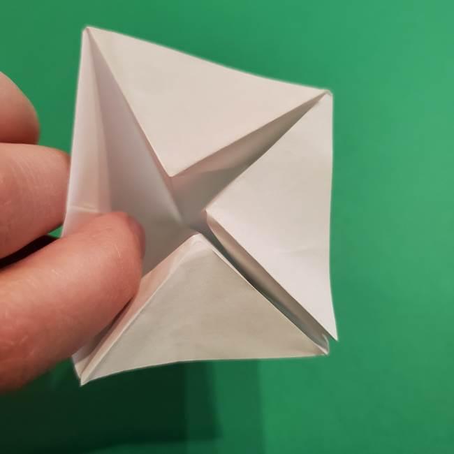 折り紙のソフトクリーム(立体)の折り方作り方(33)