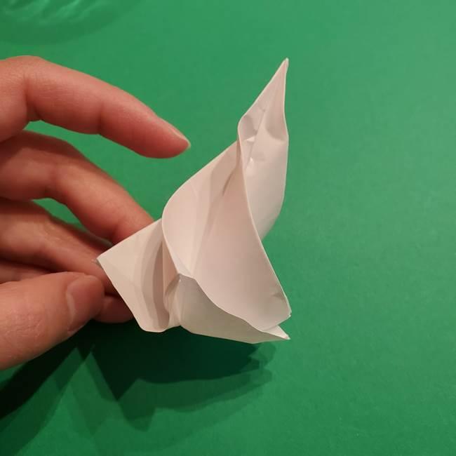 折り紙のソフトクリーム(立体)の折り方作り方(40)