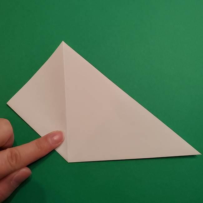 折り紙のソフトクリーム(立体)の折り方作り方(6)
