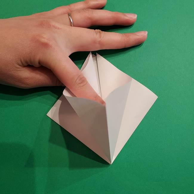 折り紙のソフトクリーム(立体)の折り方作り方(8)