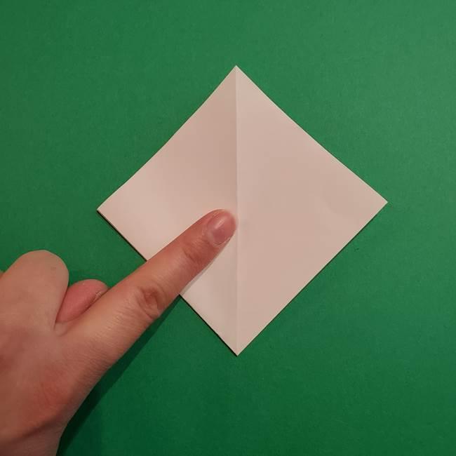 折り紙のソフトクリーム(立体)の折り方作り方(9)