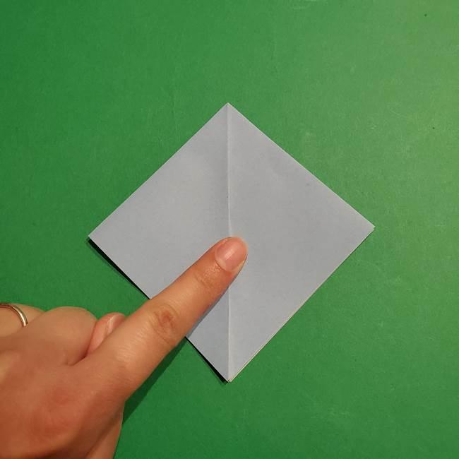 折り紙のポケモン カメックスの折り方作り方(10)