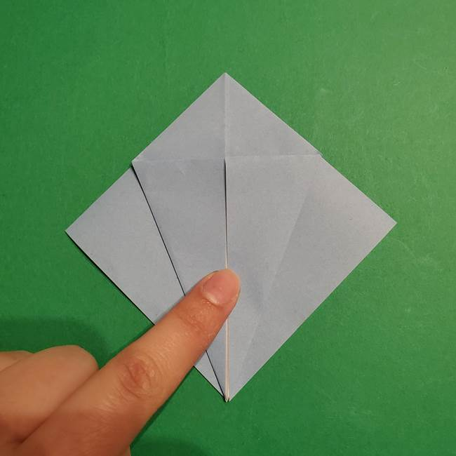 折り紙のポケモン カメックスの折り方作り方(11)