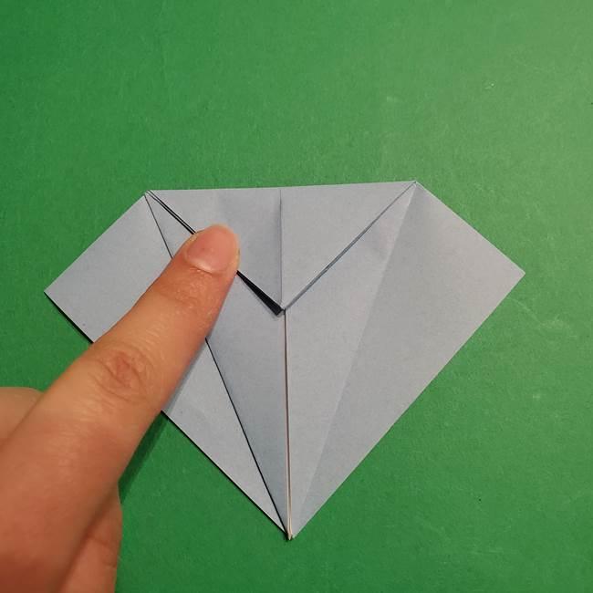 折り紙のポケモン カメックスの折り方作り方(12)