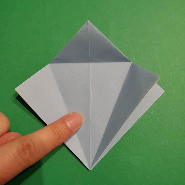 折り紙のポケモン カメックスの折り方作り方(13)